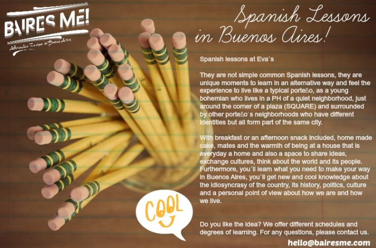 Spanish lessons in Buenos Aires!