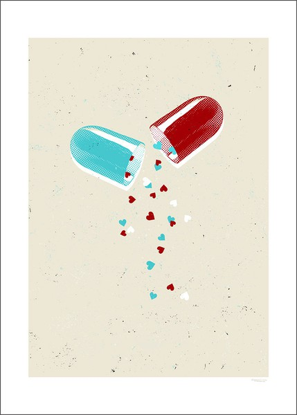 Take a pill of #Love every day & save the world! #HappyValentinesDay